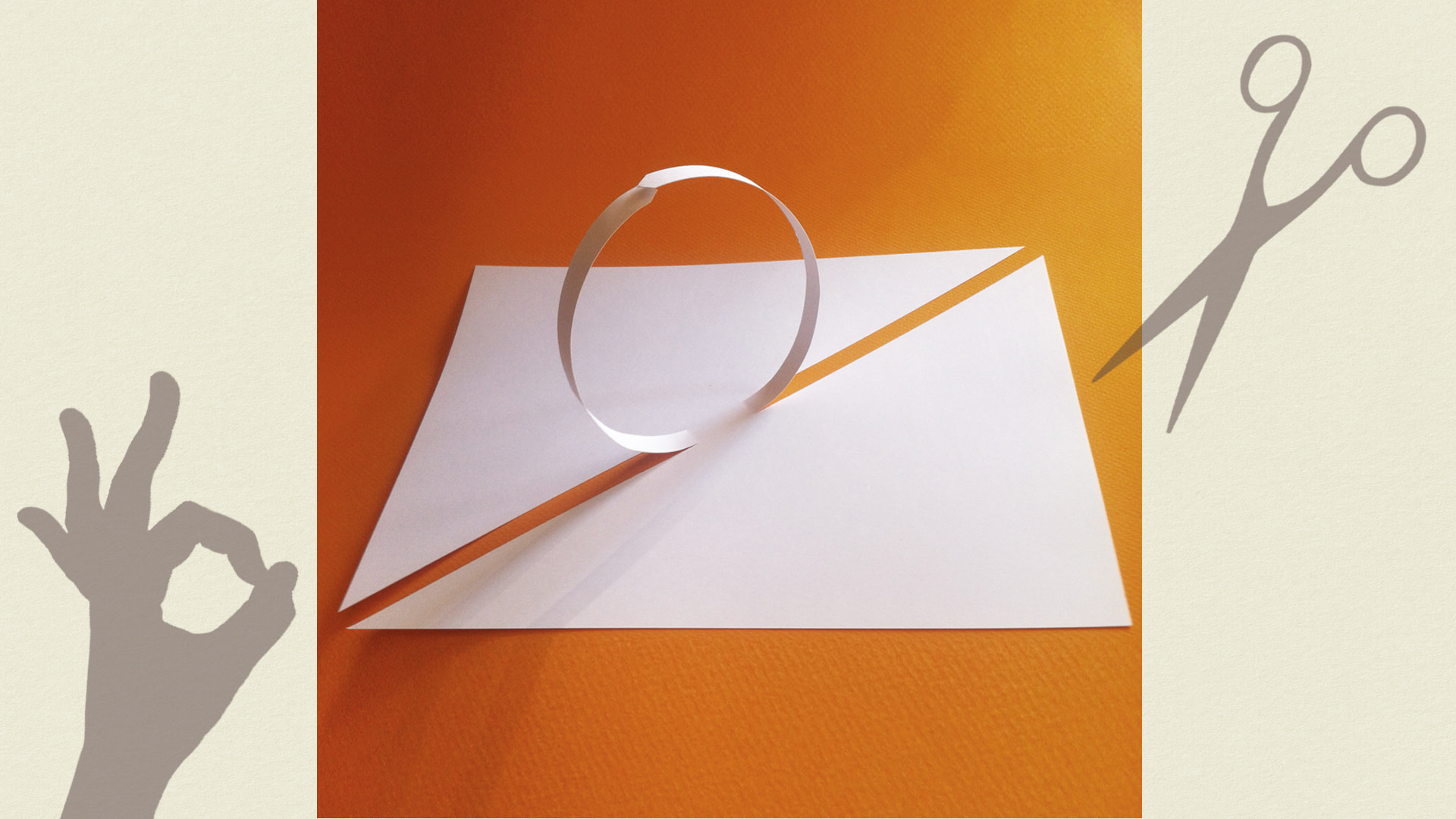 dialogue with a sheet of paper