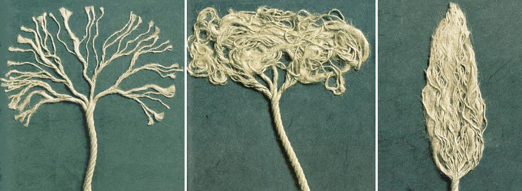 how to represent trees with a string