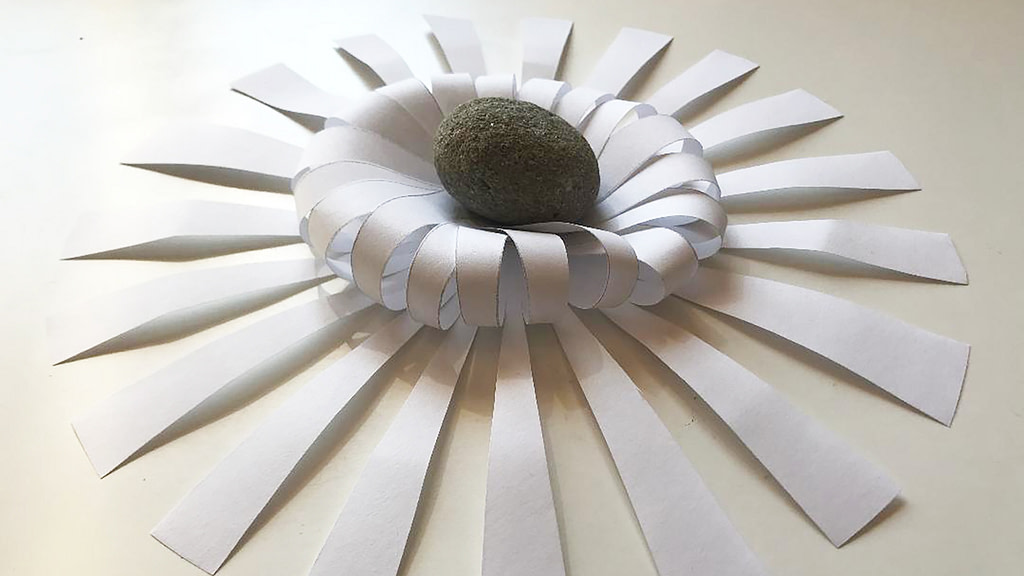 Paper and stone